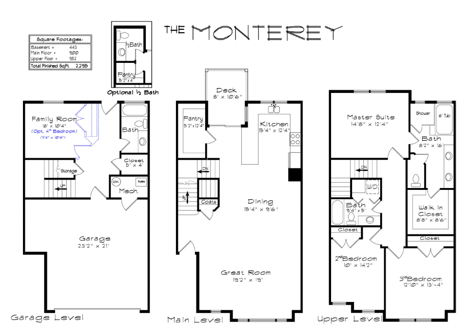 Townhouse Munity Plans Get House Design Ideas